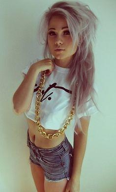 Love the hair ∞ New Hip Hop Beats Uploaded EVERY SINGLE DAY  http://www.kidDyno.com