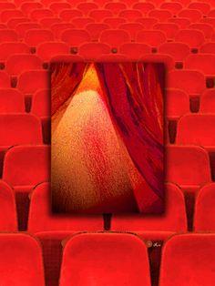 'Curtain up !' von Dirk h. Wendt bei artflakes.com als Poster oder Kunstdruck $19.41