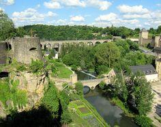 Beautiful Setting, Luxembourg City, Luxembourg