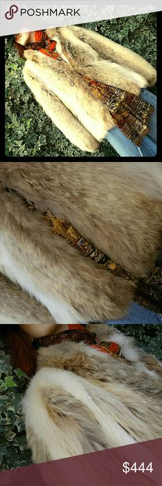 White Fox Fur Considering offers... Good Vintage condition. Will measure on request Vintage  Jackets & Coats