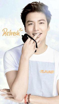 Lee Min Ho for Jeju Air