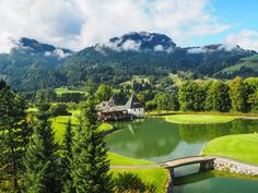 Hôtel A-rosa à Kitzbühel dans le Tyrol autrichien - un voyager en Autriche pour s'immerger dans la culture tyrolienne Golf Courses, Culture, River, Outdoor, Zip Lining, Tourism, Travel, Vacation, Searching