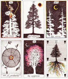 Rowan Tarot: Trees in the Wild Unknown Tarot