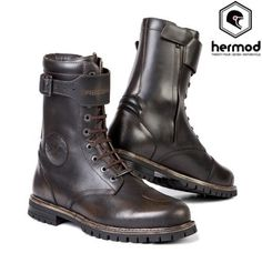 Stylmartin Rocket Cafe Racer Urban Waterproof Motorcycle Boots - Brown | Vehicle Parts & Accessories, Clothing, Helmets & Protection, Motorcycle Clothing | eBay!