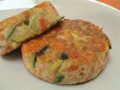 Recette de Palets de légumes : la recette facile