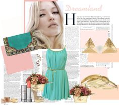 """Grecian Inspired Look"" by noharahhal on Polyvore"