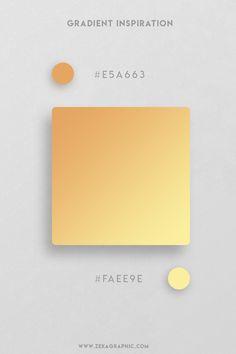16 Beautiful Color Gradient For Design Inspiration and Graphic Design Projects - Trend Design Stuff 2019 Flat Color Palette, Orange Color Palettes, Web Design, Graphic Design Projects, Ui Color, Gradient Color, Poster Art, Branding, Design Inspiration