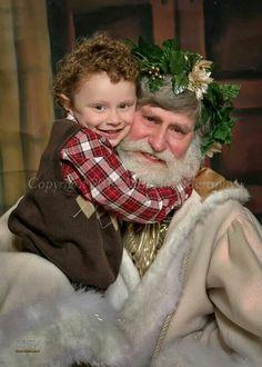 Father Christmas portraits