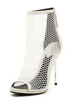 B Brian Atwood Michelet Mesh Caged Heel by Non Specific on Caged Heels, Pumps Heels, Ankle Heels, Stilettos, Wedge Boots, Shoe Boots, Brian Atwood Shoes, All About Fashion, So Little Time