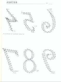 ALFABETET I KNIPLING - Elena Corvini - Picasa Webalbums Bobbin Lace Patterns, Letter A Crafts, Craft Letters, Lace Heart, Lace Jewelry, Lace Detail, Creations, Tattoos, Albums