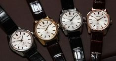 Grand Seiko 44GS Limited Edition Watch. 37.9 mm. In steel (SBGW047) or white, yellow or rose 18k gold (SBGW043, SBGW044 and SBGW046, respectively)