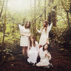 Forest Fairies I by Ella Ruth, via Flickr