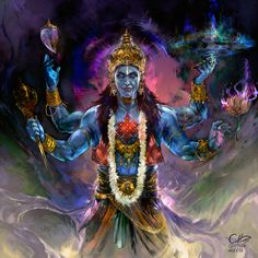 Shiva Tandav, Shiva Art, Krishna Art, Hindu Art, Lord Shiva, Digital Art Fantasy, Fantasy Art, Lord Vishnu Wallpapers, Lord Murugan