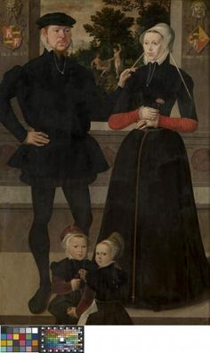 Portrait of a Family - Anonymous Master, Northern Low Countries, 1559 - 1559