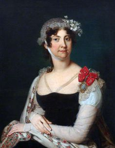 Natalia von Buxhoevden by Vladimir Borovikovsky, 1809