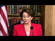 "Nancy Pelosi: ""We did not treat President Bush this way."""