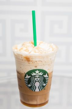 Coffee Caramel Energizer: Coffee Frappuccino with caramel drizzle and three shots of espresso.