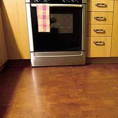 How to install a cork floor. Can be installed over existing flooring, Eco friendly. Good idea for the kitchen and dining room.