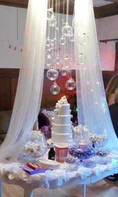 If we were rich this is what Zoey's 2nd birthday would look like! bubble party decor