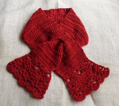 Spunky Gladiola scarf free pattern...this is so pretty, love it