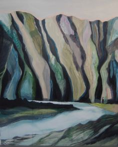 Holy Mountain, acrylics on canvas, by Katharina Zahl Fagervik Acrylics, Holi, Mountain, Canvas, Painting, Art, Tela, Art Background, Painting Art