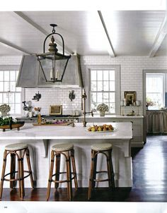 Classic Subway Tiled Kitchen