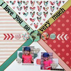 My Creative Scrapbook July Main kit created by Jodi Wilton.