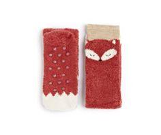 Fluffy fox socks - OYSHO (€6,99)