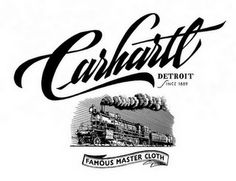 Creative Carhartt, -, Ss, and Heritage image ideas & inspiration on Designspiration Typography Letters, Typography Logo, Graphic Design Typography, Lettering Design, Calligraphy Signs, Caligraphy, Inspiration Typographie, Typography Inspiration, Design Inspiration