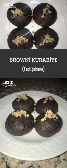 Browni Kurabiye (Tadı Şahane) - is-sit tiegħi Ham, Cookie Recipes, Brownies, Bakery, Dinner Recipes, Food And Drink, Ice Cream, Cookies, Gelato