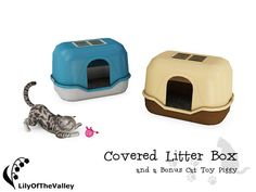LilyOfTheValley's Covered Litter Box