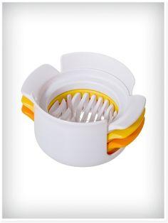 Progressive egg slicer