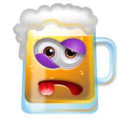 Smiley  - Bier