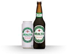Cerveja Malta Malzbier Sem Álcool, estilo Sem álcool, produzida por Cervejaria Malta, Brasil. 0.5% ABV de álcool.
