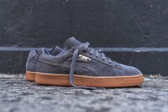 "Puma Suede Winter ""Steel Grey/Gum"" - EU Kicks: Sneaker Magazine"