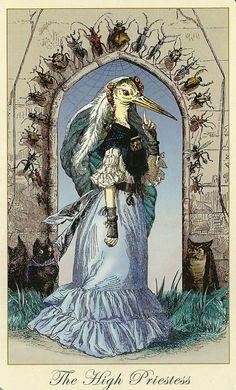 The High Priestess. Tarot card. --> http://All-About-Tarot.com