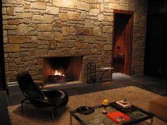 Classic Interior With Unique Fireplace Designs