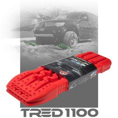 TRED is the ultimate all-in-one off road recovery device, specially designed to get your four-wheel drive, ATV and equipment out of trouble when traction is lost in sand, mud, sludge, slime or snow.