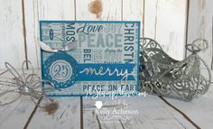 Dapper Denim Christmas by Technique_Freak - Cards and Paper Crafts at Splitcoaststampers