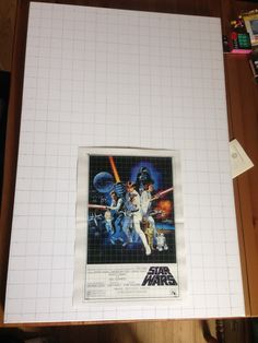 Size comparison, A3 printed poster, 24 x 36 in Canvas