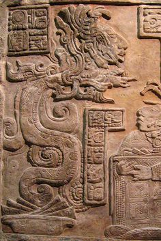 Mayan relief