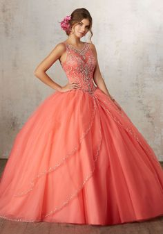be17fbde77 Mori Lee Vizcaya Quinceanera Dress Style 89127CR - Joyful Events Store 2017 Quinceanera  Dresses