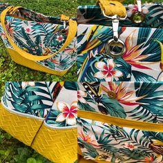 sac Samba tropical jaune de Valérie - patron Sacôtin