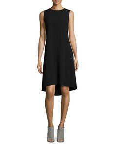 Asymmetric Drop-Waist Dress by Vince at Neiman Marcus.