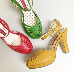 Love these shoes! 1940s, Heels, How To Wear, Clothes, Outfits, Fashion, Heel, Moda, Clothing