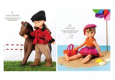 Livre Tricot N°838 J'habille mes poupées - Autres - Phildar