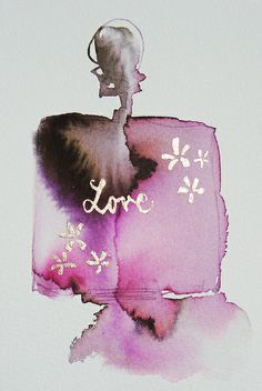 love and flowers by Bridget Davies