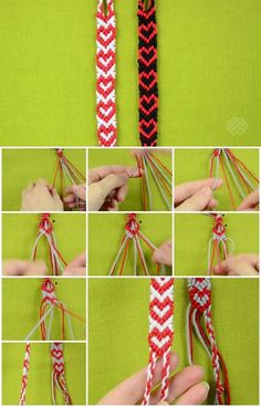 How to Make Heart Friendship Bracelet | UsefulDIY.com