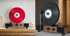 [TOPITRUC] Une platine vinyle verticale pour les gens qui respectent lart du vinyle