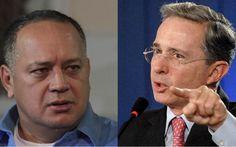 Uribe llama narcotraficante, corrupto, matón, dictador y cobarde a Cabello